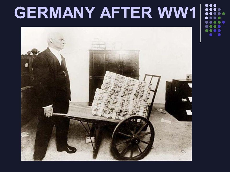 GERMANY AFTER WW1