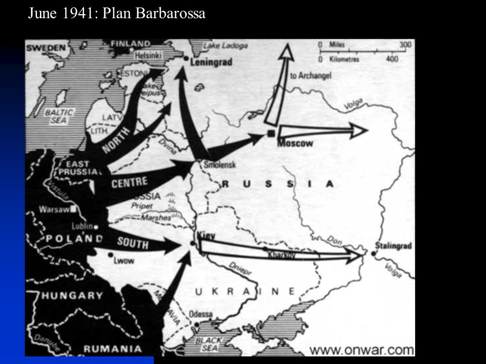 June 1941: Plan Barbarossa