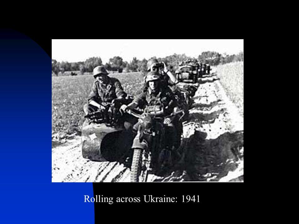 Rolling across Ukraine: 1941
