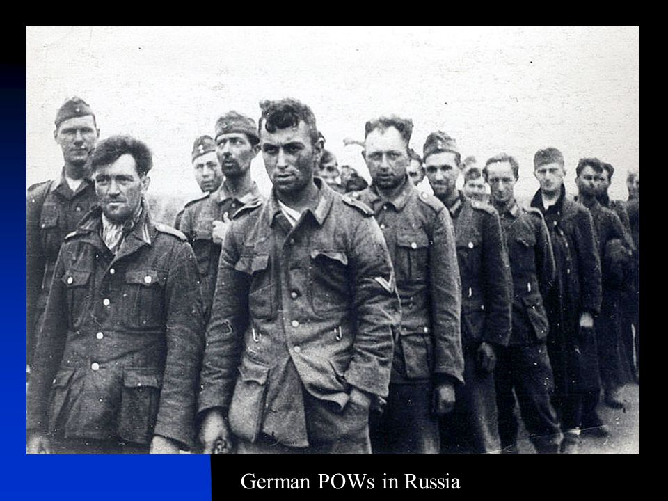 German POWs in Russia