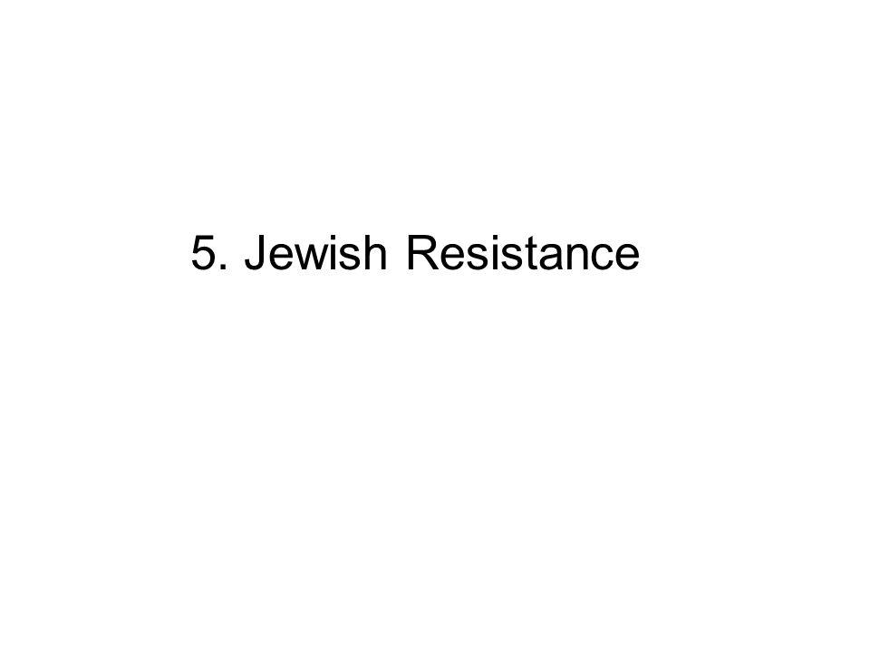 5. Jewish Resistance