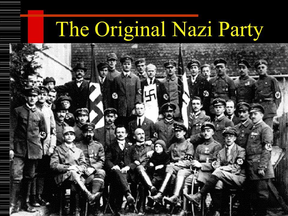 The Original Nazi Party