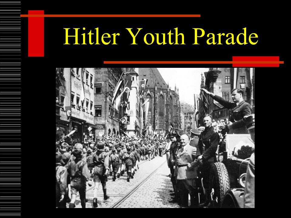 Hitler Youth Parade