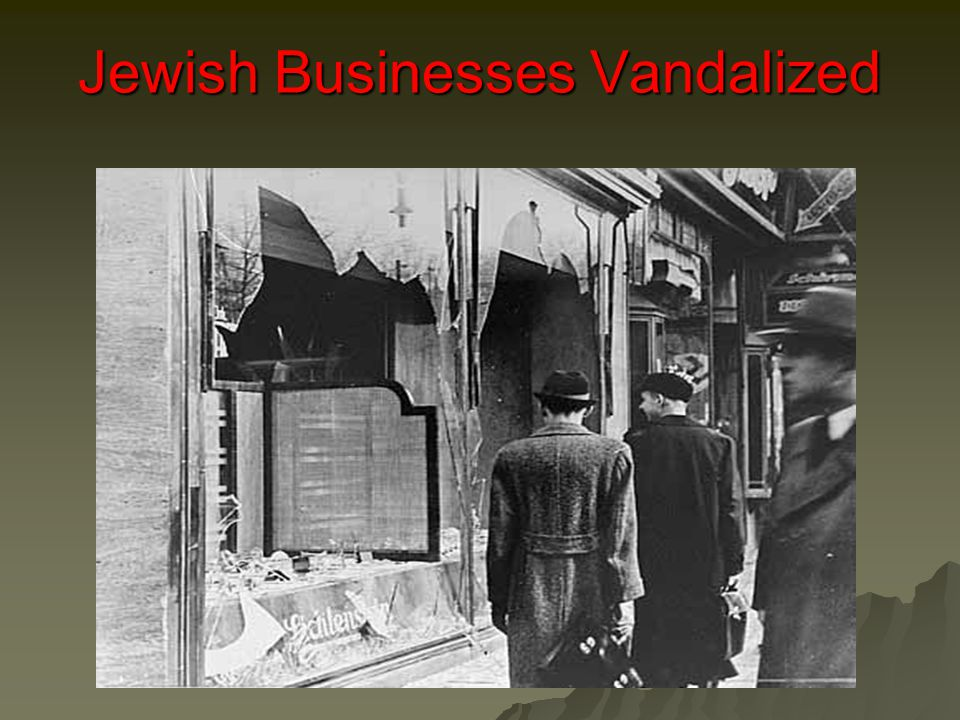 Jewish Businesses Vandalized