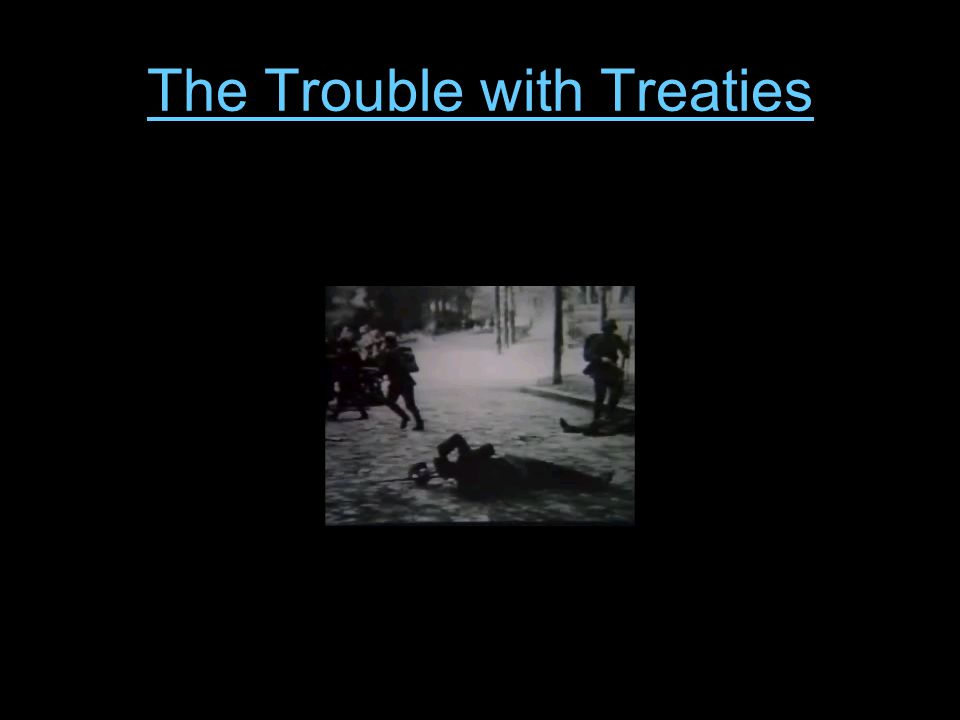 The Trouble with Treaties