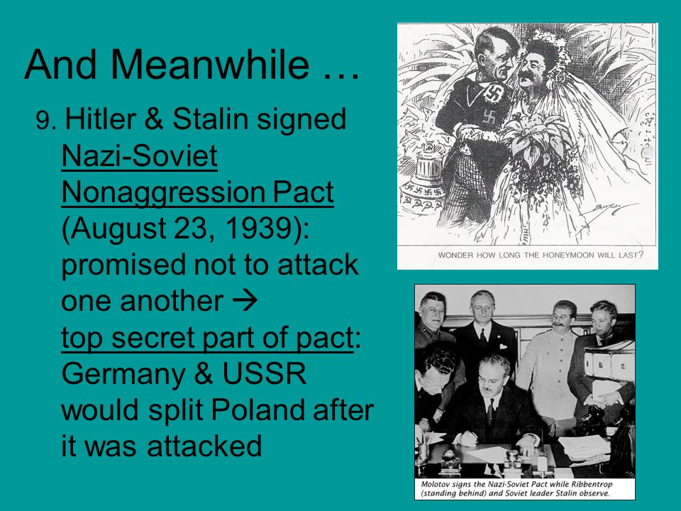 WAR.10. Germany invaded Poland on Sept. 1, 1939 11.
