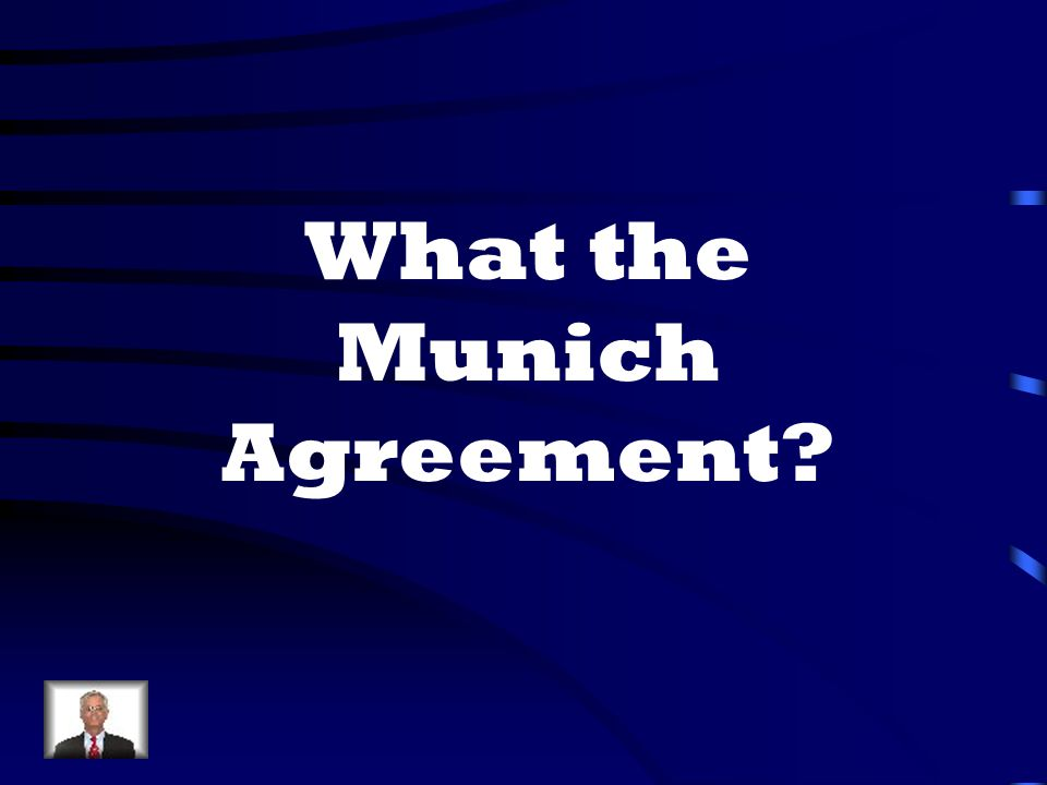 What the Munich Agreement