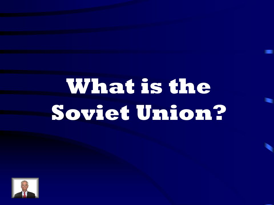 What is the Soviet Union