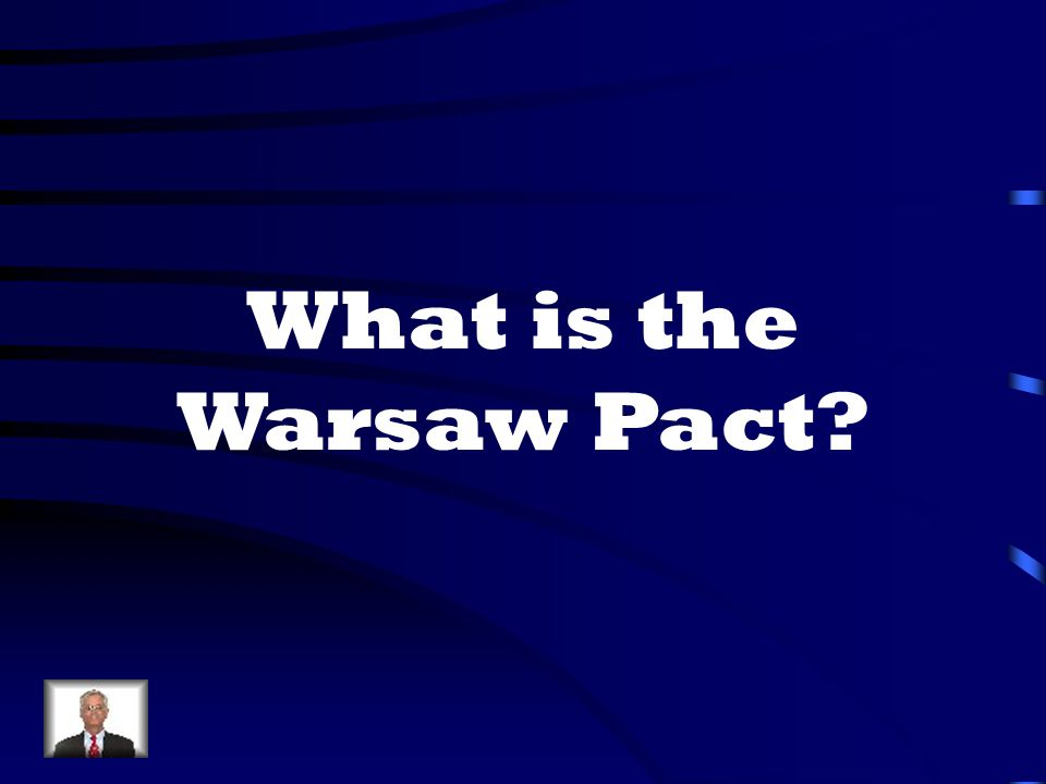What is the Warsaw Pact