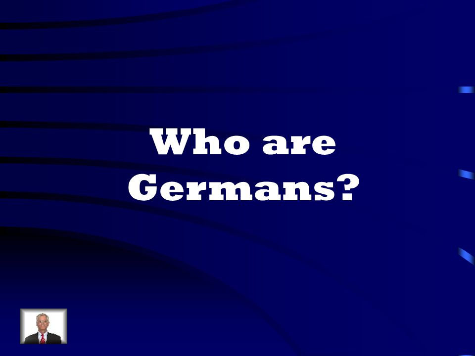 Who are Germans