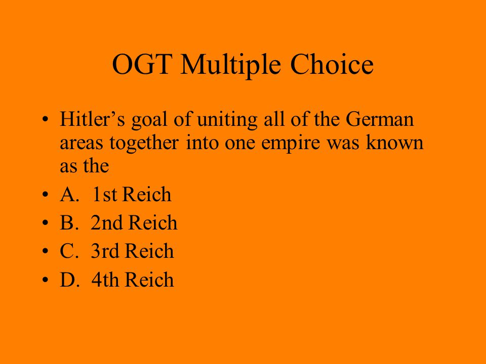 OGT Multiple Choice Which was not part of the non aggression pact between the Soviet Union and Germany in 1939.