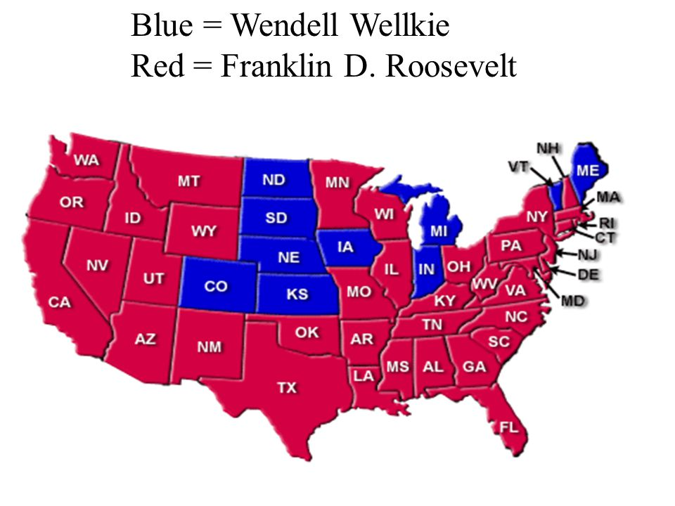 V. World Affairs and the Presidential Campaign of 1940 A. Wendell Willkie (Rep) 1. Hated New Deal/Gov. aid 2. TVA competed against him 3. Wanted to he