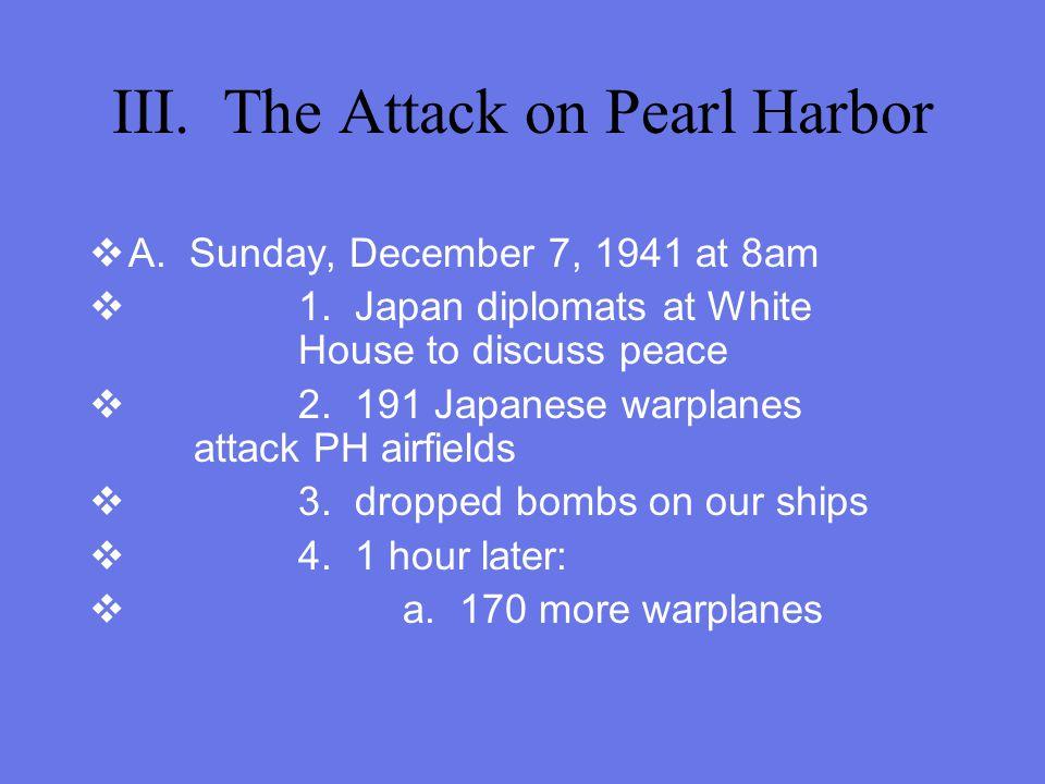 Trouble in the Pacific, continued C. General Hideki Tojo--leader of Japan HE CHOOSES WAR!!!!!!!!!!!!!!!!!!!! D. U.S. breaks Japan code 1. we knew when