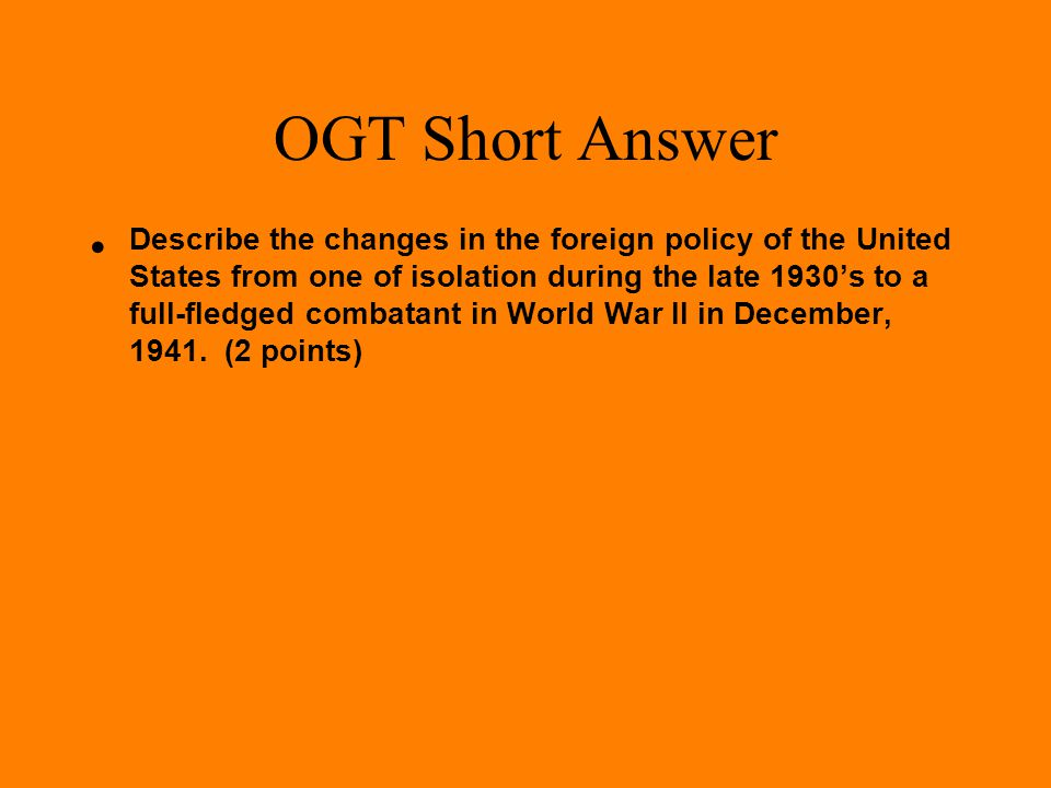 OGT Multiple Choice The most effective factor in slowing the Nazi drive into the Soviet Union in 1941 was A.