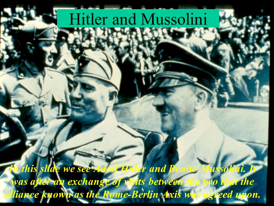 Hitler with Japanese Ambassador Tojo In this slide we see Hitler conferring with Japanese Ambassador Tojo at Berchtesgaden in October 1938.