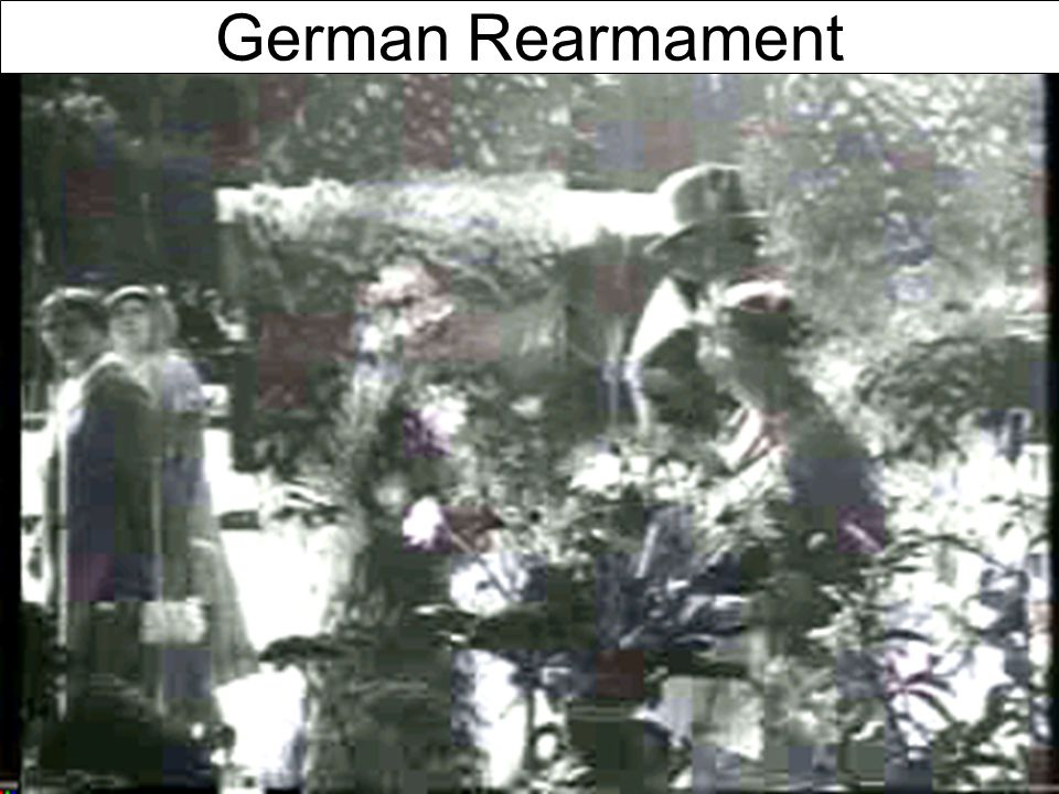 Germany's Economic Recovery German Rearmament