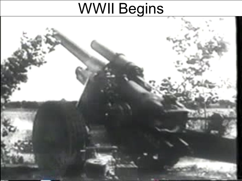 WWII Begins