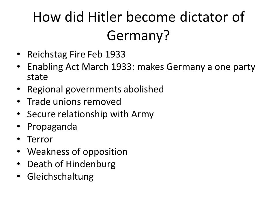How did Hitler prepare Germany for war.