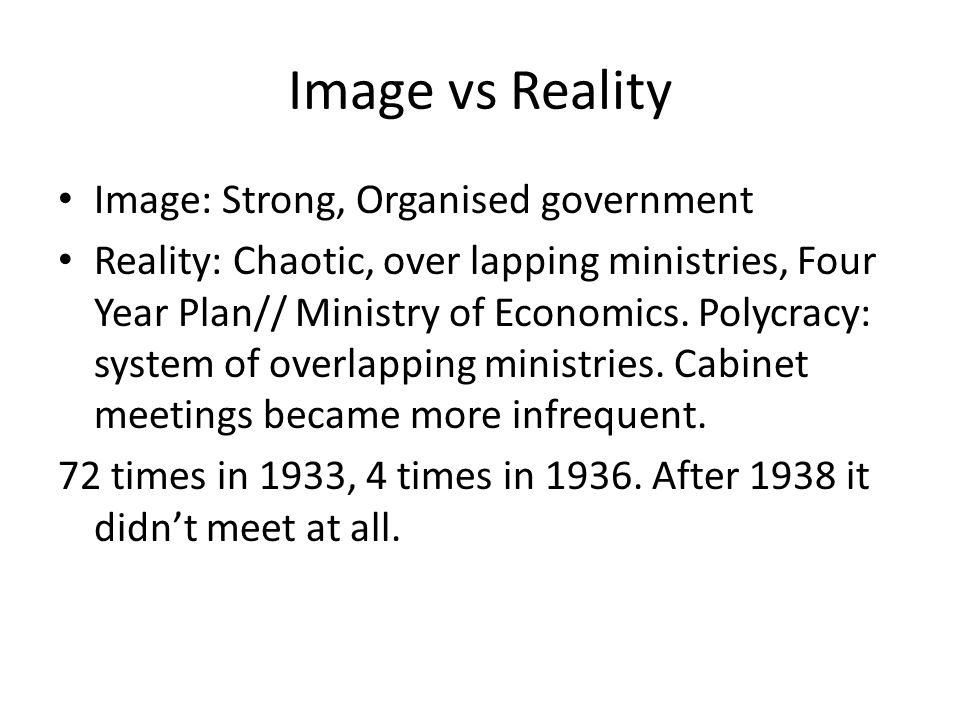 Was the style of government intended.