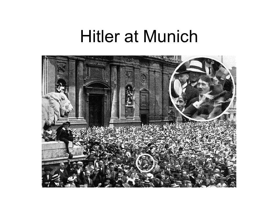 Hitler at Munich