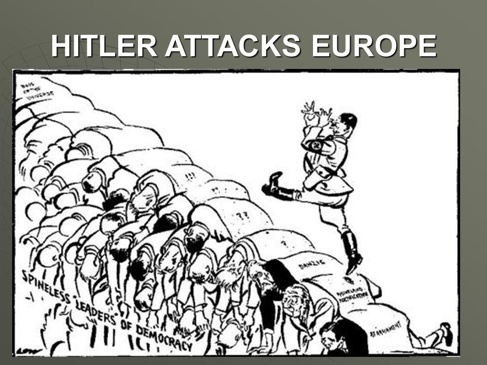 HITLER ATTACKS EUROPE