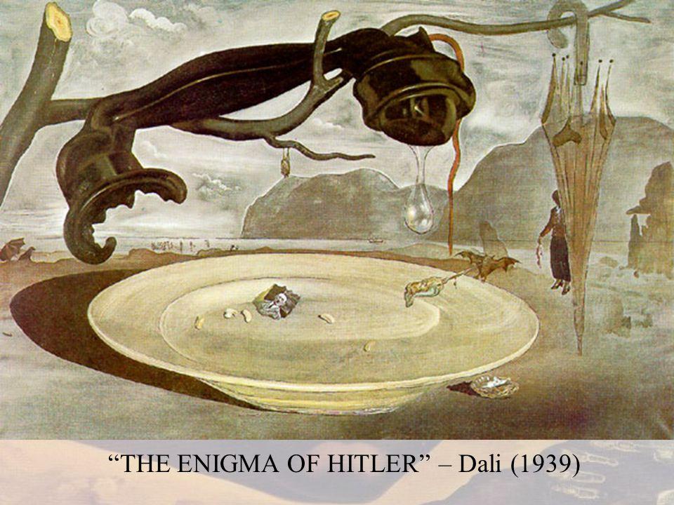 THE ENIGMA OF HITLER – Dali (1939)