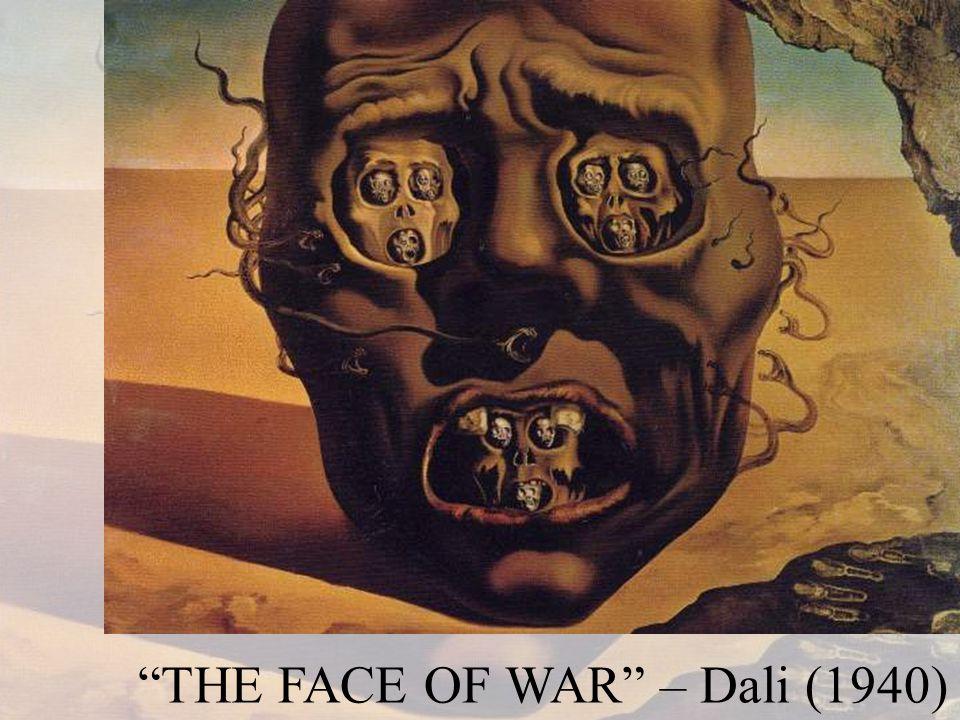 THE FACE OF WAR – Dali (1940)