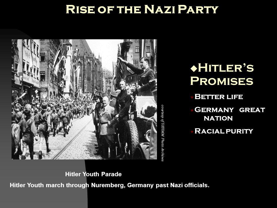 Photo credit: USHMM Photo Archives Photo credit: National Archives, courtesy of USHMM Photo Archives courtesy of USHMM Photo Archives Adolf Hitler