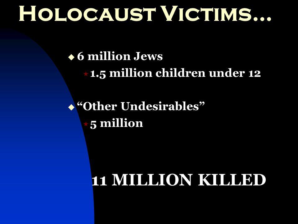 Holocaust (hol·o·caust): n - 1.