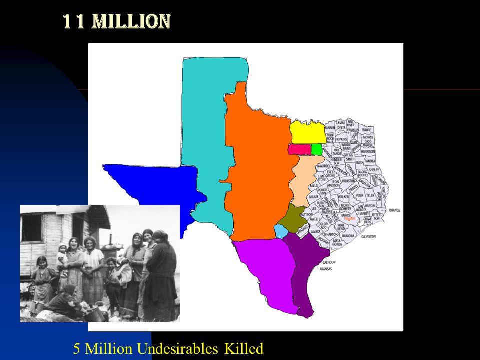 Holocaust Victims…  6 million Jews  1.5 million children under 12  Other Undesirables  5 million 11 MILLION KILLED