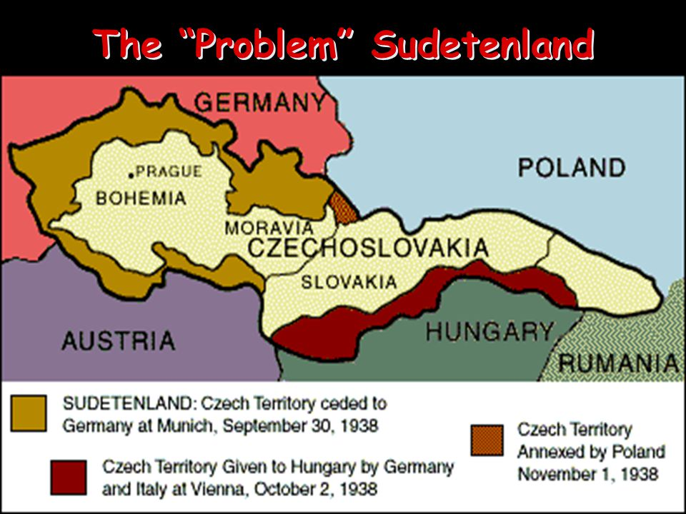 The Austrian Anschluss, 1936