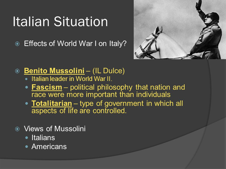 Mussolini  1935- Mussolini invades Ethiopia