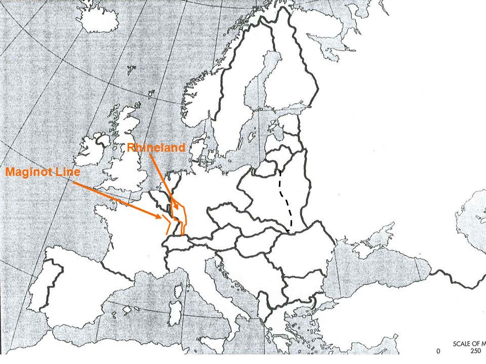 Rhineland Maginot Line