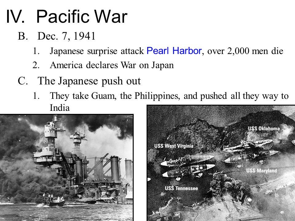 IV. Pacific War B.Dec.