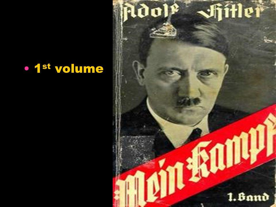 1 st volume