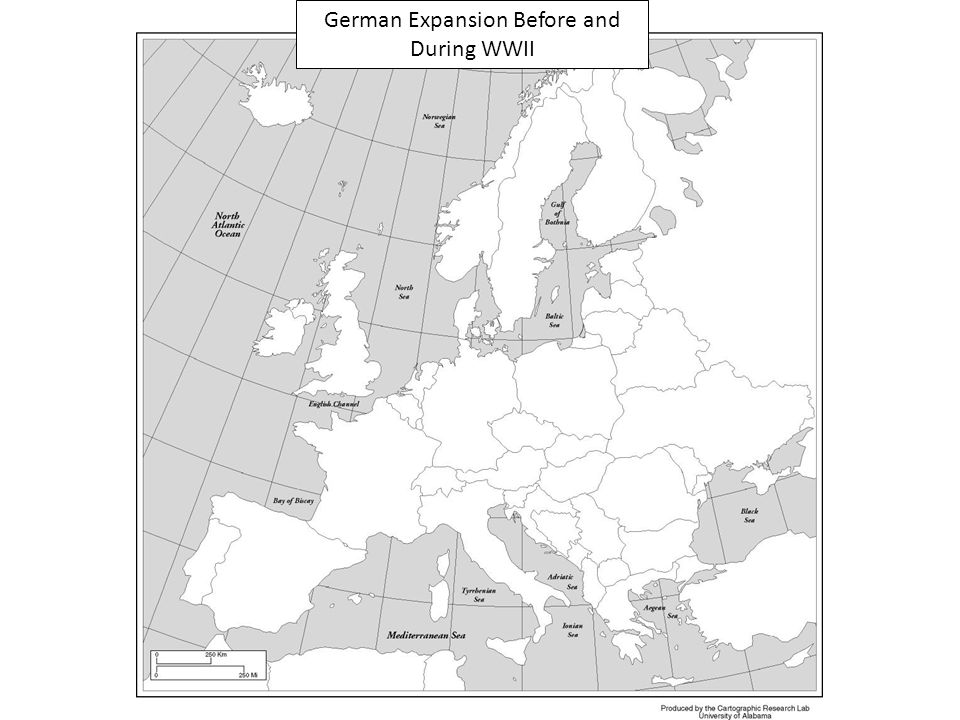 German Expansion Before and During WWII