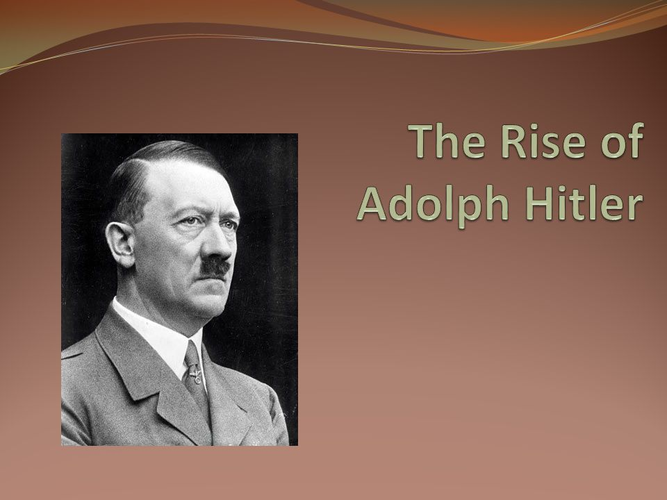 Hitler's youth Adolph Hitler was born April 20, 1889(his old family name was Schickelgruber) He was a failure for the first 30 years of his life.