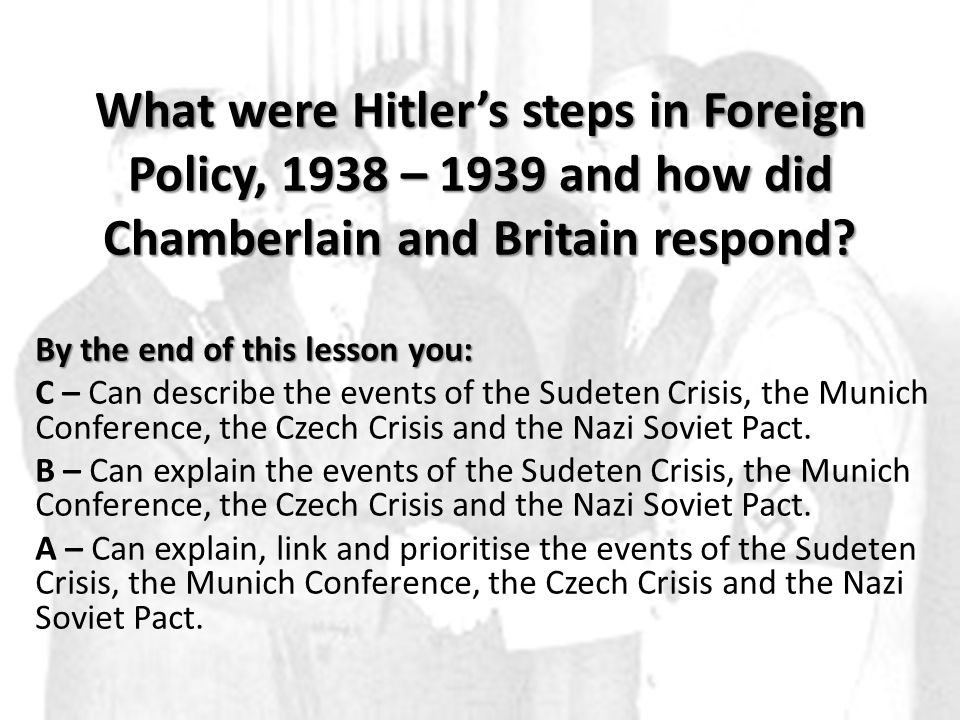 Appeasement 1.What was it? 2.Why did British governments adopt the policy in the 1930s?