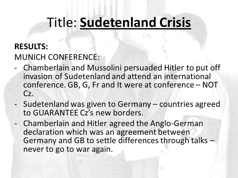 http://www.bbc.co.uk/learningzone /clips/the-sudetenland/3869.html