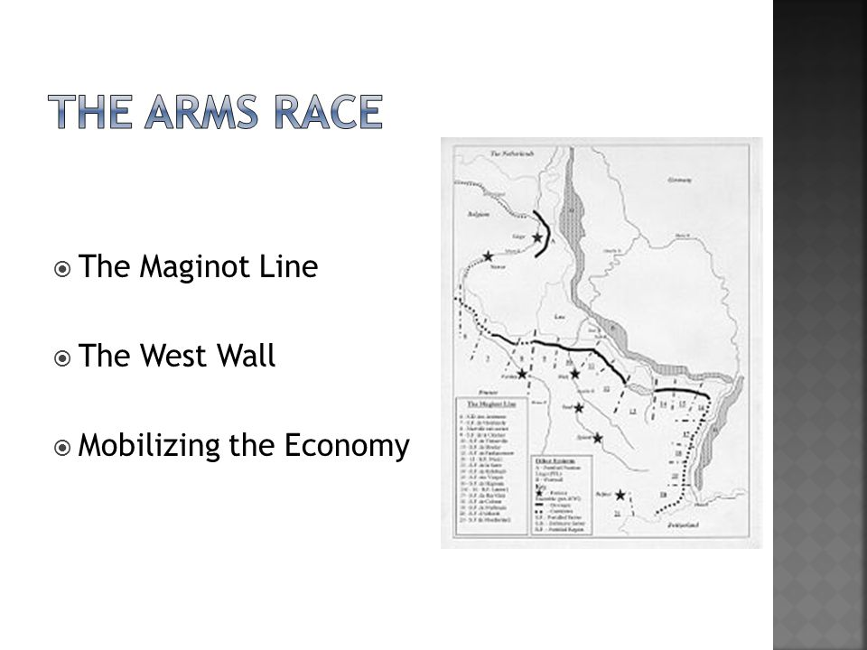  The Maginot Line  The West Wall  Mobilizing the Economy