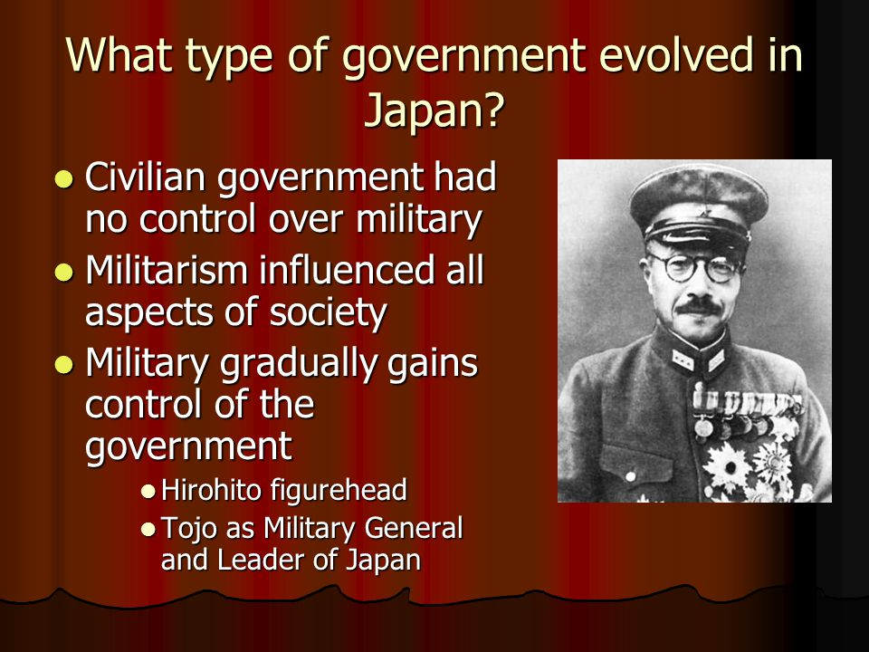 What Problems did Japan have after WWI? Weak Constitutional Monarchy Weak Constitutional Monarchy Conflicts with west over immigration policies and TO