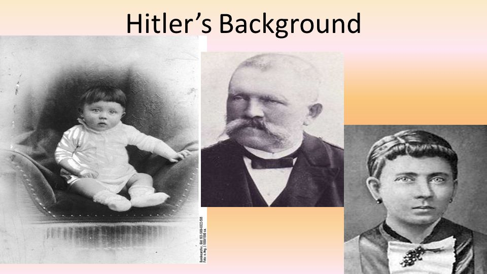 Hitler's Background