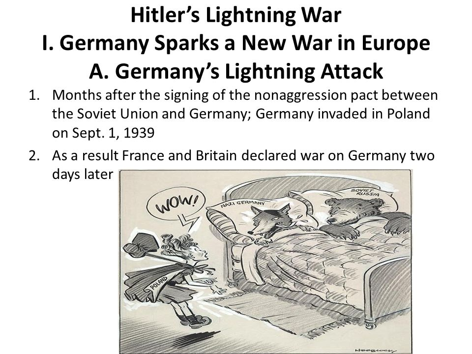 A.Germany's Lightning Attack 3.