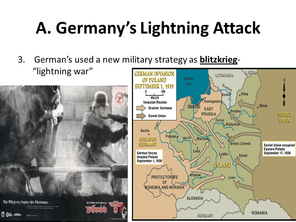 A. Germany's Lightning Attack 3.