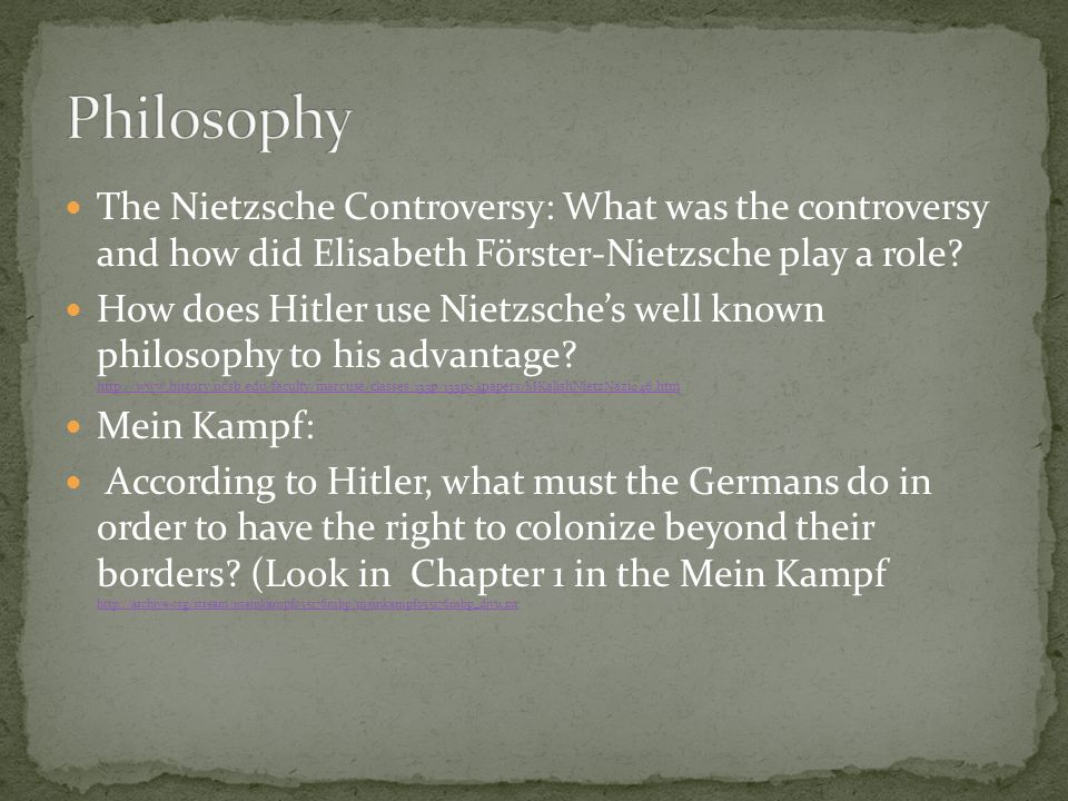 Proclamation by Hitler: http://fcit.usf.edu/holocaust/resource/document/HITLER2.htm http://fcit.usf.edu/holocaust/resource/document/HITLER2.htm What does his proclamation reveal about Germany's past relationship with Britain.