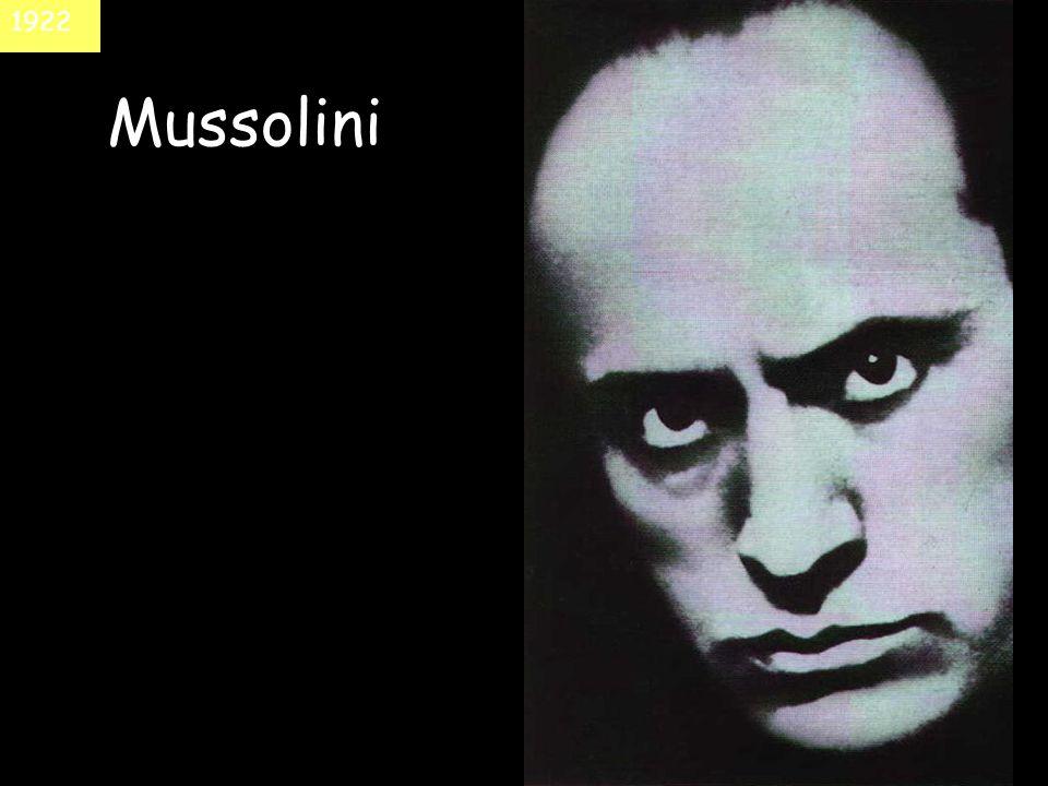 Mussolini 1922
