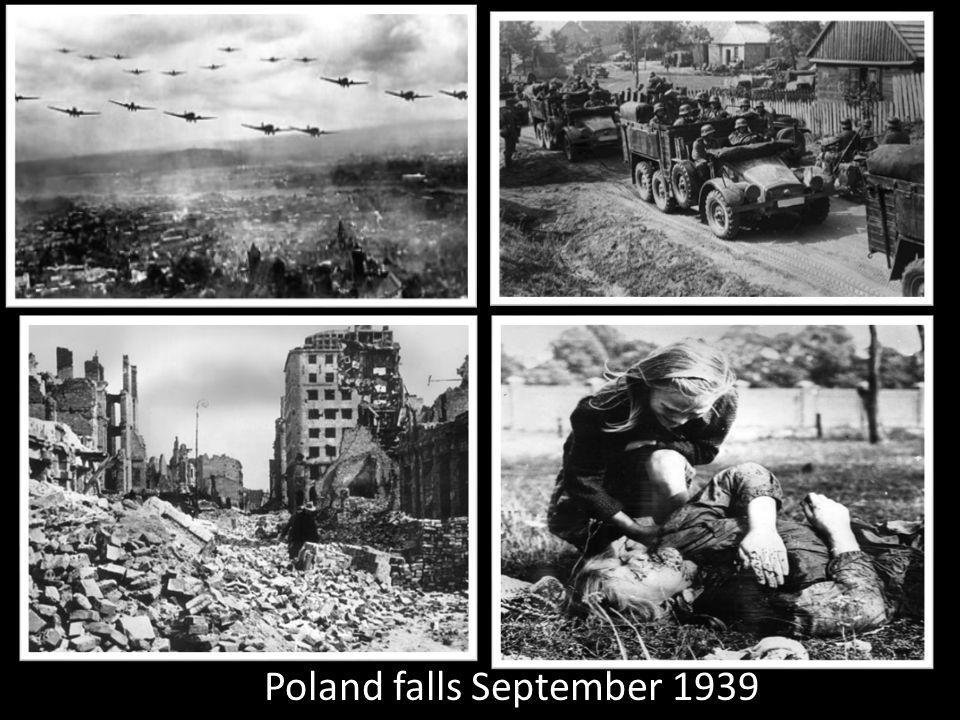 Poland falls September 1939