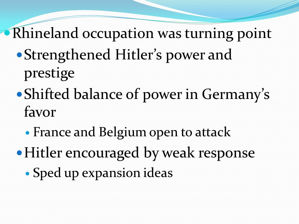Axis Powers Mussolini seeks alliance with Hitler Oct 1936 – Rome-Berlin Axis November 1936 – Germany makes agreement with Japan – Comintern Pact Germany, Italy and Japan become Axis Powers