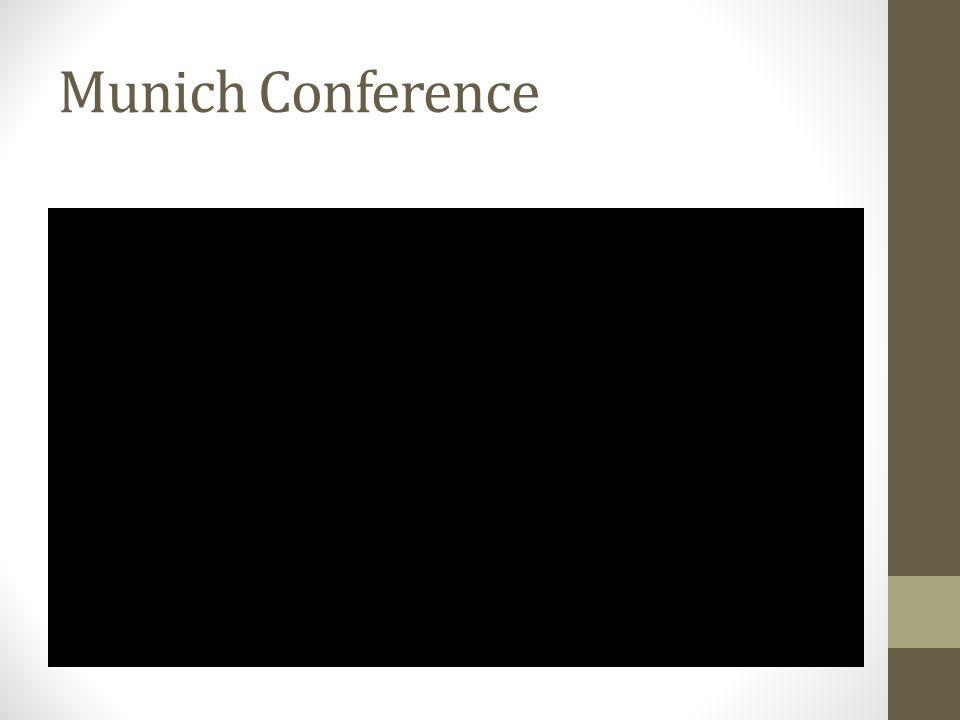 Munich Conference