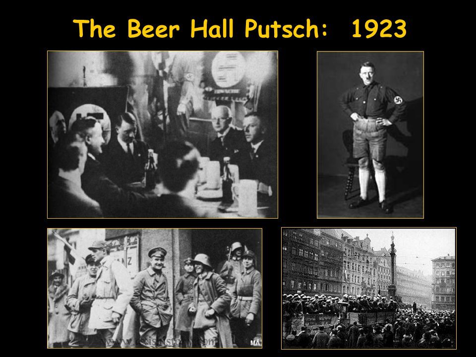 The Beer Hall Putsch: 1923